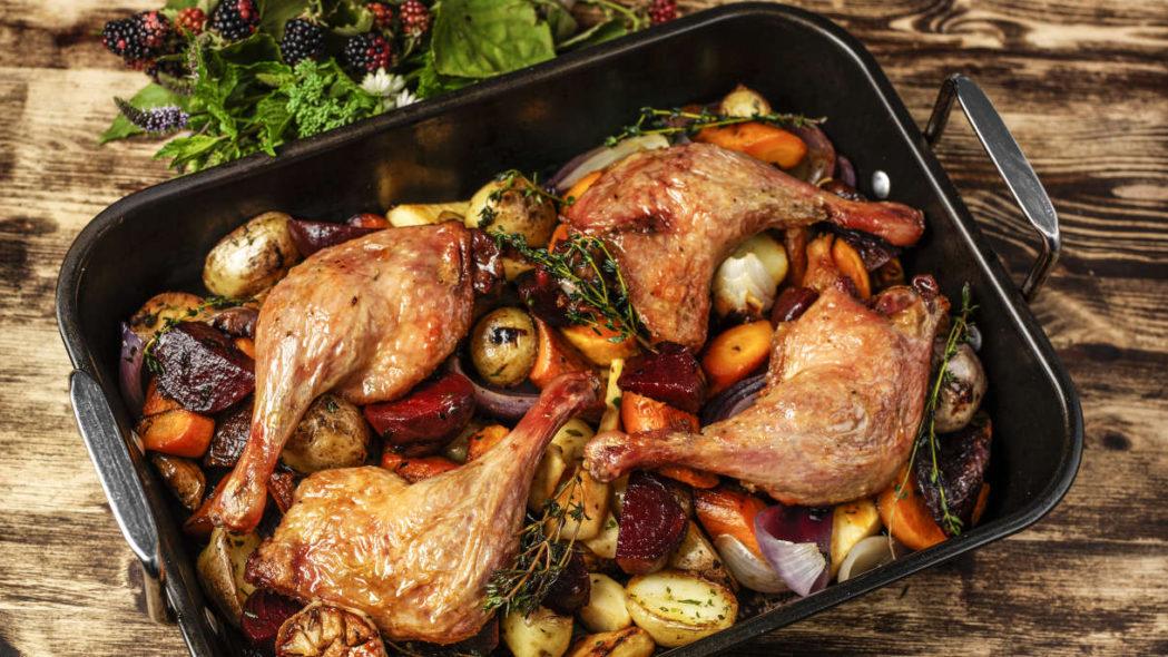 How to Cook Duck Legs · Gressingham